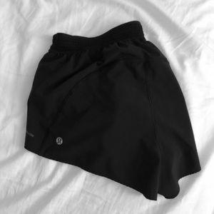 Lululemon Black adjustable shorts